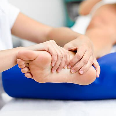 Arch care at Gentle Foot Care