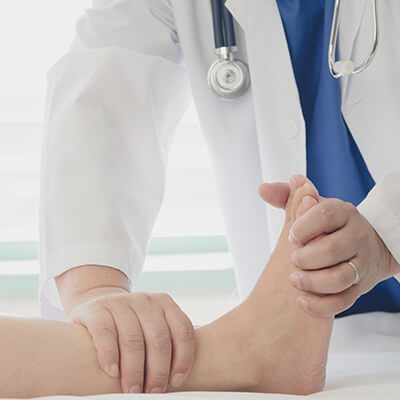 Ankle and leg care at Gentle Foot Care
